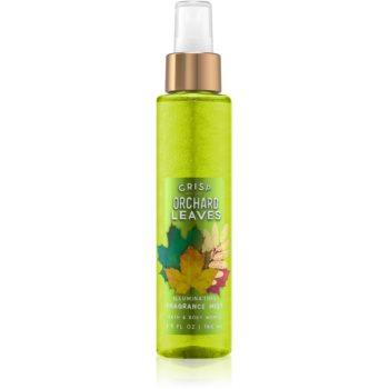Bath & Body Works Crisp Orchard Leaves spray pentru corp pentru femei 146 ml strălucitor