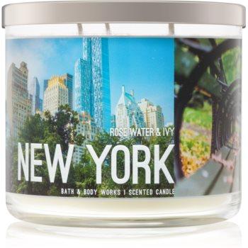 Bath & Body Works Rose Water & Ivy lumanari parfumate 411 g I. New York