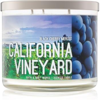 Bath & Body Works Black Cherry Merlot lumanari parfumate 411 g California Vineyard