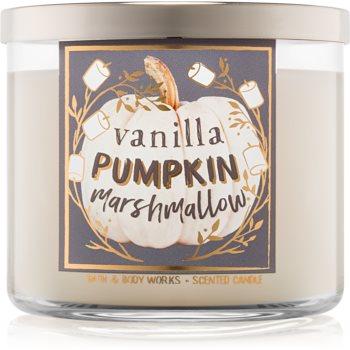 Bath & Body Works Vanilla Pumpkin Marshmallow lumanari parfumate 411 g I.