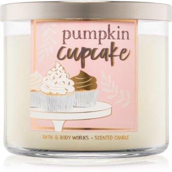 Bath & Body Works Pumpkin Cupcake lumanari parfumate 411 g