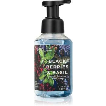 Bath & Body Works Black Berries & Basil Sapun spuma pentru maini