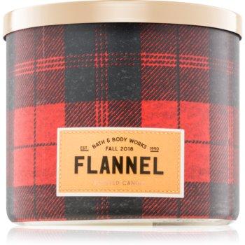 Bath & Body Works Flannel lumanari parfumate 411 g I.