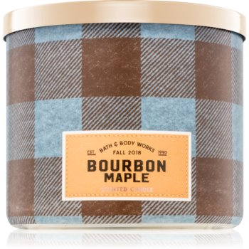 Bath & Body Works Bourbon Maple lumanari parfumate 411 g I.
