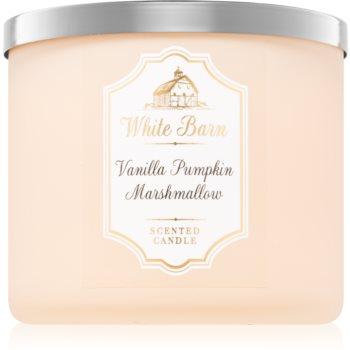 Bath & Body Works Vanilla Pumpkin Marshmallow lumanari parfumate 411 g
