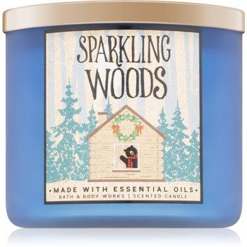 Bath & Body Works Sparkling Woods lumânare parfumată