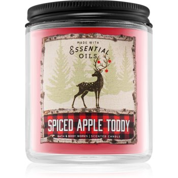 Bath & Body Works Spiced Apple Toddy lumânare parfumată III