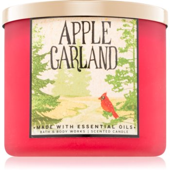 Bath & Body Works Apple Garland lumanari parfumate 411 g