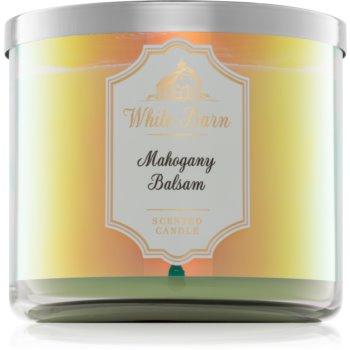 Bath & Body Works Mahogany Balsam lumanari parfumate 411 g I.