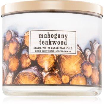 Bath & Body Works Mahogany Teakwood duftkerze I. 411 g