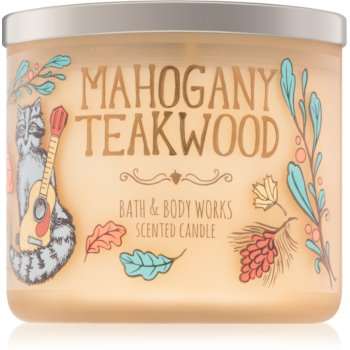 Bath & Body Works Mahogany Teakwood 411 g duftkerze  IV. Duftkerze