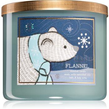 Bath & Body Works Flannel lumânare parfumată V.