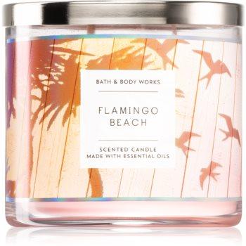 Bath & Body Works Flamingo Beach duftkerze 411 g