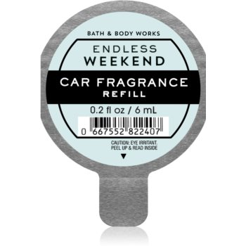 Bath & Body Works Endless Weekend parfum pentru masina rezervă