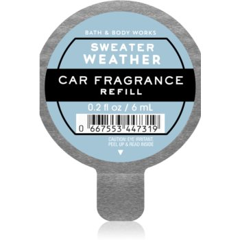 Bath & Body Works Sweater Weather parfum pentru masina rezervă