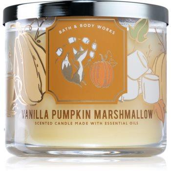 Bath & Body Works Vanilla Pumpkin Marshmallow lumânare parfumată II.