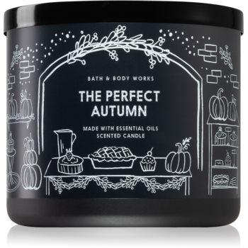 Bath & Body Works The Perfect Autumn lumânare parfumată I.