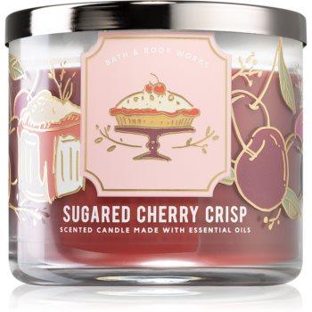 Bath & Body Works Sugared Cherry Crisp lumânare parfumată I.