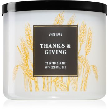 Bath & Body Works Thanks & Giving lumânare parfumată