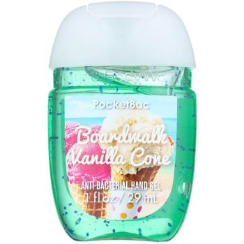 Bath & Body Works PocketBac Boardwalk Vanilla Cone антибактериален гел за ръце