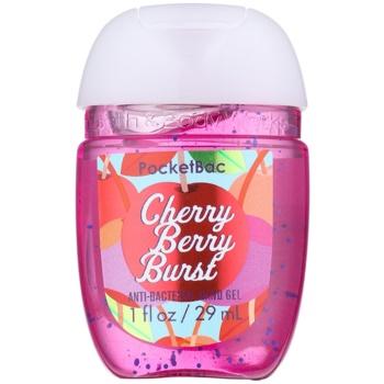 Bath & Body Works PocketBac Cherry Berry Burst antibakterielles Gel für die Hände