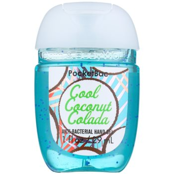 Bath & Body Works PocketBac Cool Coconut Colada antibakterielles Gel für die Hände