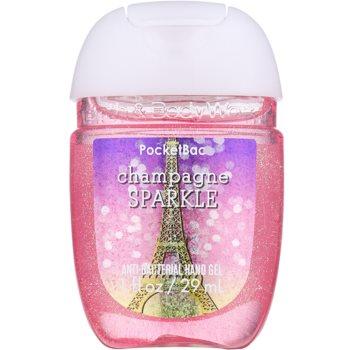 Bath & Body Works PocketBac Champagne Sparkle antibakterielles Gel für die Hände
