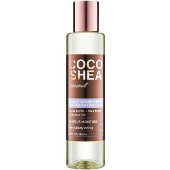 Bath & Body Works Cocoshea Coconut Uleiuri de corp pentru femei 186 ml