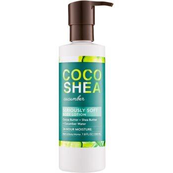 Bath & Body Works Cocoshea Cucumber lapte de corp pentru femei 230 ml