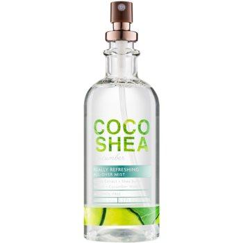 Bath & Body Works Cocoshea Cucumber spray pentru corp pentru femei 156 ml