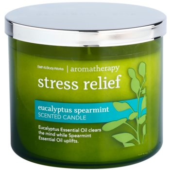 Bath & Body Works Eucalyptus Spearmint vonná sviečka