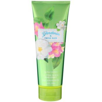 Bath & Body Works Gardenia & Fresh Rain crema de corp pentru femei 226 g
