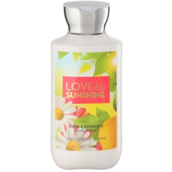 Bath & Body Works Love and Sunshine Body Lotion for Women