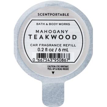Bath & Body Works Mahogany Teakwood parfum pentru masina Refil