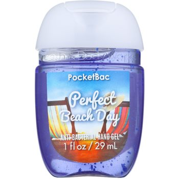 Bath & Body Works PocketBac Perfect Beach Day antibakterielles Gel für die Hände