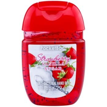 Bath & Body Works PocketBac Strawberry Vanilla Sugar антибактеріальний гель для рук