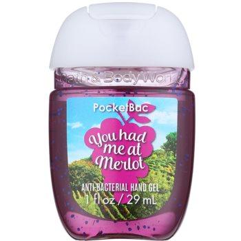 Bath & Body Works PocketBac You Had Me at Merlot antibakteriális gél kézre