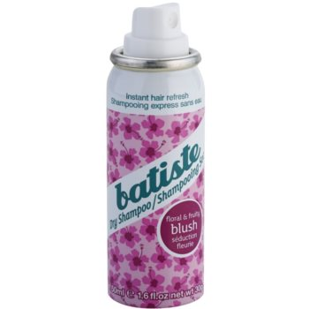 Batiste Fragrance Blush сухий шампунь для об'єму та блиску 1
