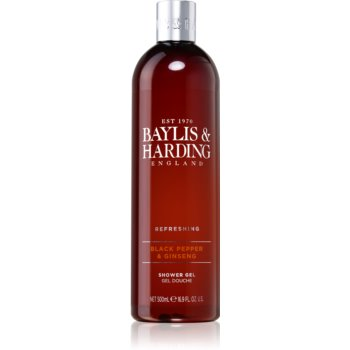 Baylis & Harding Black Pepper & Ginseng sprchový gel 500 ml