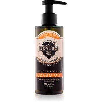 Be-Viro Men's Only Grapefruit, Cinnamon, Sandal Wood ulei pentru barba