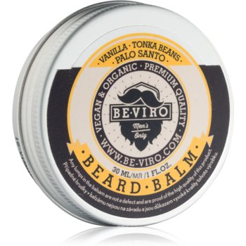 Be-Viro Men's Only Vanilla Palo Santo Tonka Boby balsam pentru barba