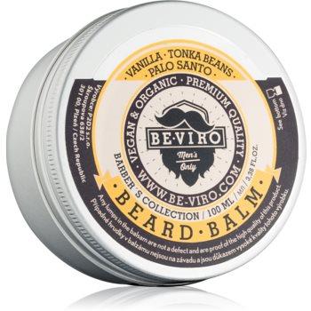 Be-Viro Men's Only Vanilla, Palo Santo, Tonka Boby balsam pentru barba