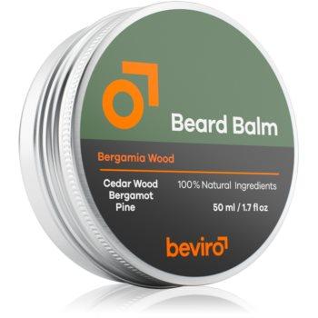 Beviro Bergamia Wood balsam pentru barba