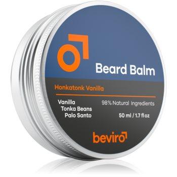 Beviro Honkatonk Vanilla balsam pentru barba