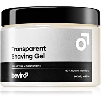 Beviro Transparent Shaving Gel Rasiergel 500 ml