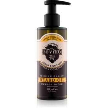 Be-Viro Men´s Only Vanilla, Palo Santo, Tonka Boby ulei pentru barba Vanilka, Palo Santo, Tonka Boby 200 ml