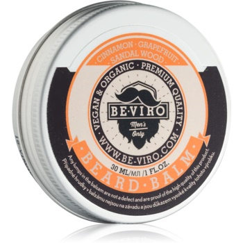 Be-Viro Men´s Only Grapefruit, Cinnamon, Sandal Wood balsam pentru barba Grapefruit, Cinnamon, Sandal Wood 30 ml