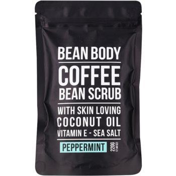 bean body peppermint exfoliant de corp pentru matifiere