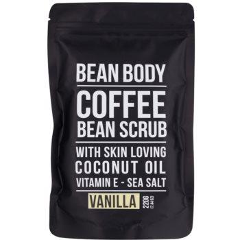 Bean Body Vanilla exfoliant de corp pentru matifiere