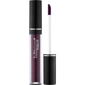 BelláPierre Kiss Proof Lip Créme Ruj de buze lichid, de lunga durata culoare Black Dahlia 3,8 g